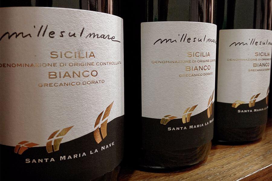 Bottiglie Millesulmare Sicilia DOC Bianco