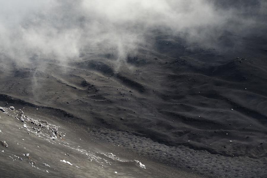 Etna ash
